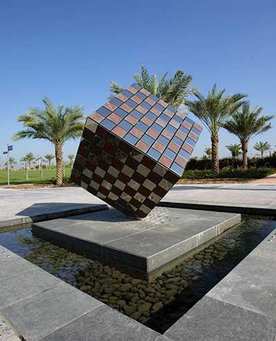 Zabeel Park, Dubai. Corporate commissioned sculpture