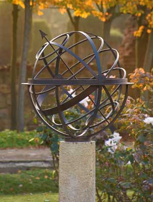 Charmant Brass Armillary Sundials