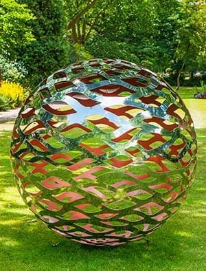 Contemporary Garden Sculpture Outdoor Sculpture Metal Garden