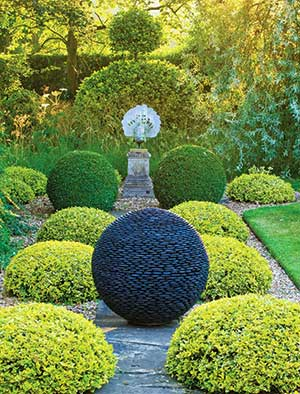 Captivating Stone Garden Sphere