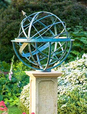 Superb Bronze Armillary Spheres