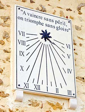 Vertical Sundials
