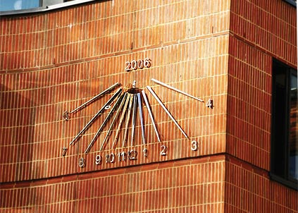 Examples Of Sundials For Corporate Locations