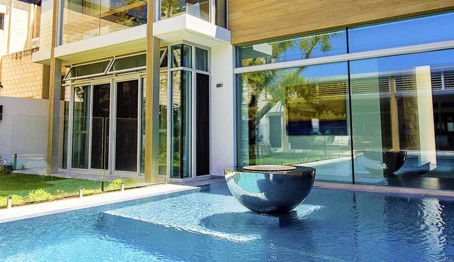 Garden art indoor sculpture public sculpture david - Swimming pool water features perth ...