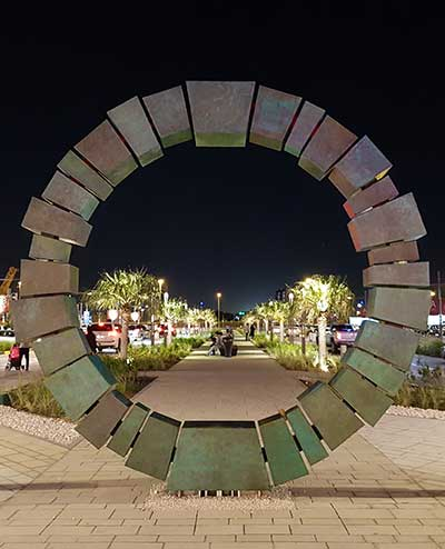 Public sculpture for Doha shopping mall