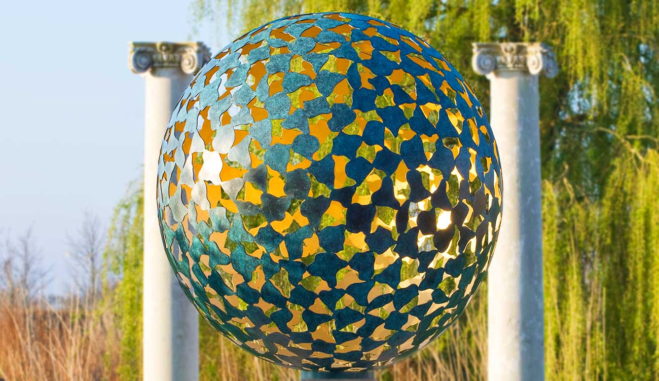 Garden sculpture, contemporary yard art