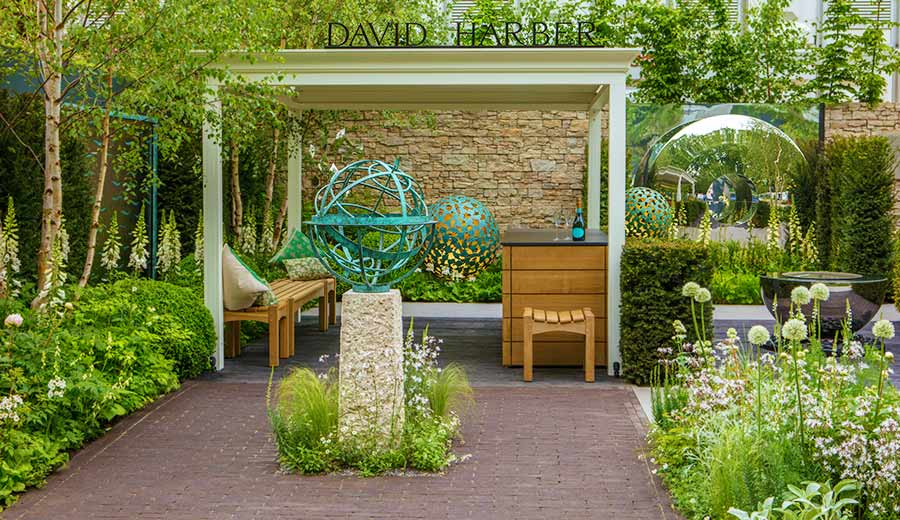 RHS Chelsea flower Show stand