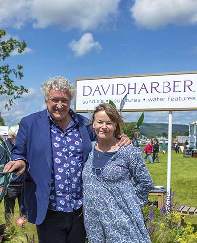 David and Sophie Harber at Chatsworth