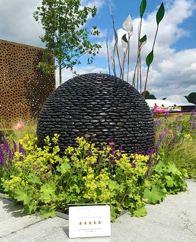 Five star award at the Chatsworth flower show
