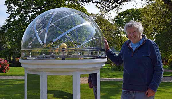 David Harber and his Orrery