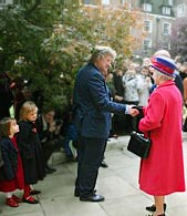 David Harber meets Her Majesty the Queen