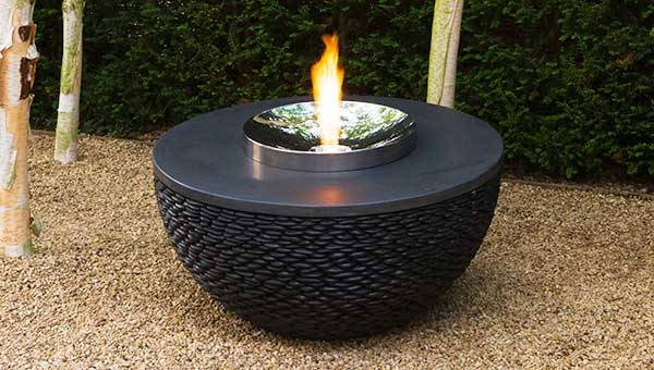 Outdoor contemporary fire table
