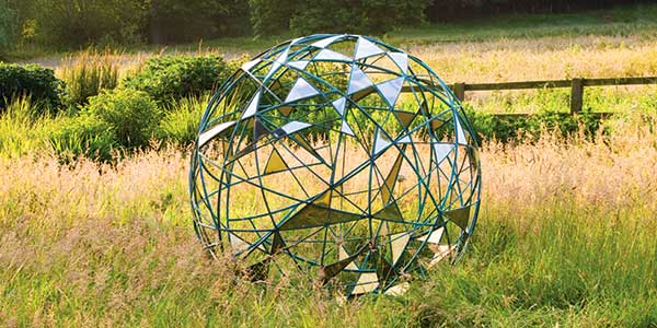 "Matrix garden ""wire ball"""