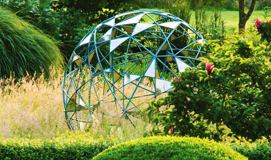 Matrix outdoor garden sphere