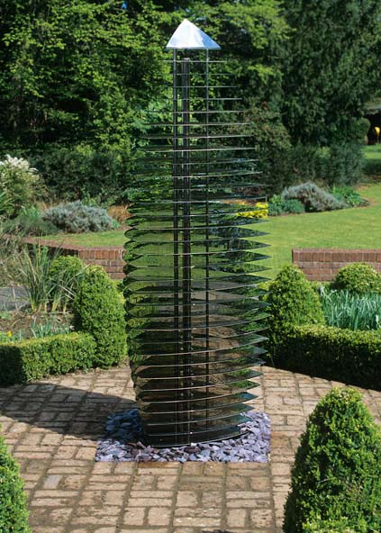 Modern Garden Sculpture - Contemporary Ether Sentinel. David Harber