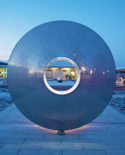 Torus sculpture,