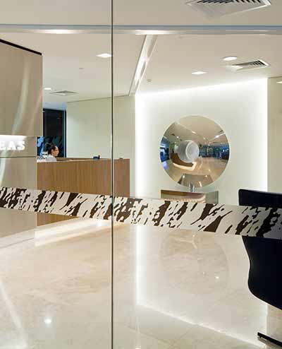Torus sculpture, Western Areas head office, Perth, Australia