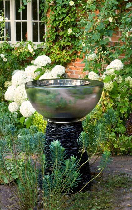 Backyard Water Feature Award Winning Chalice Garden