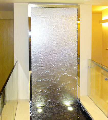 Indoor Wall Water Features - Home Design & Architecture - Cilif.com