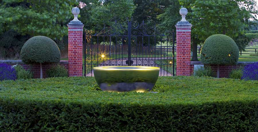 Sky Chalice outdoor water feature