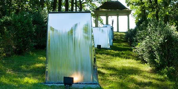 Water wall. Ideal as a garden water feature