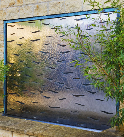 Water Wall Features For The Garden