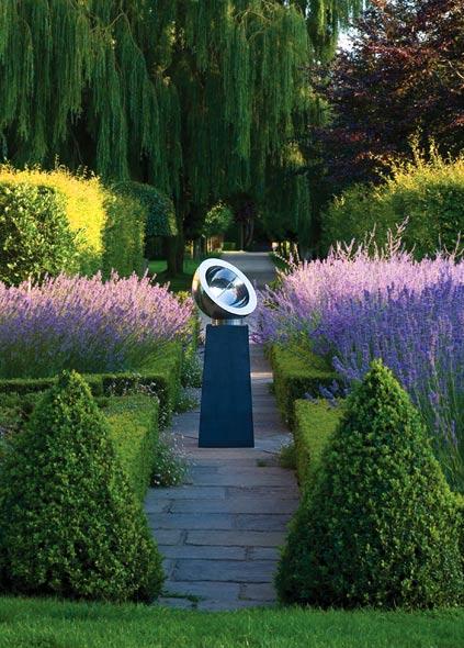 Reloj de sol para el jardin